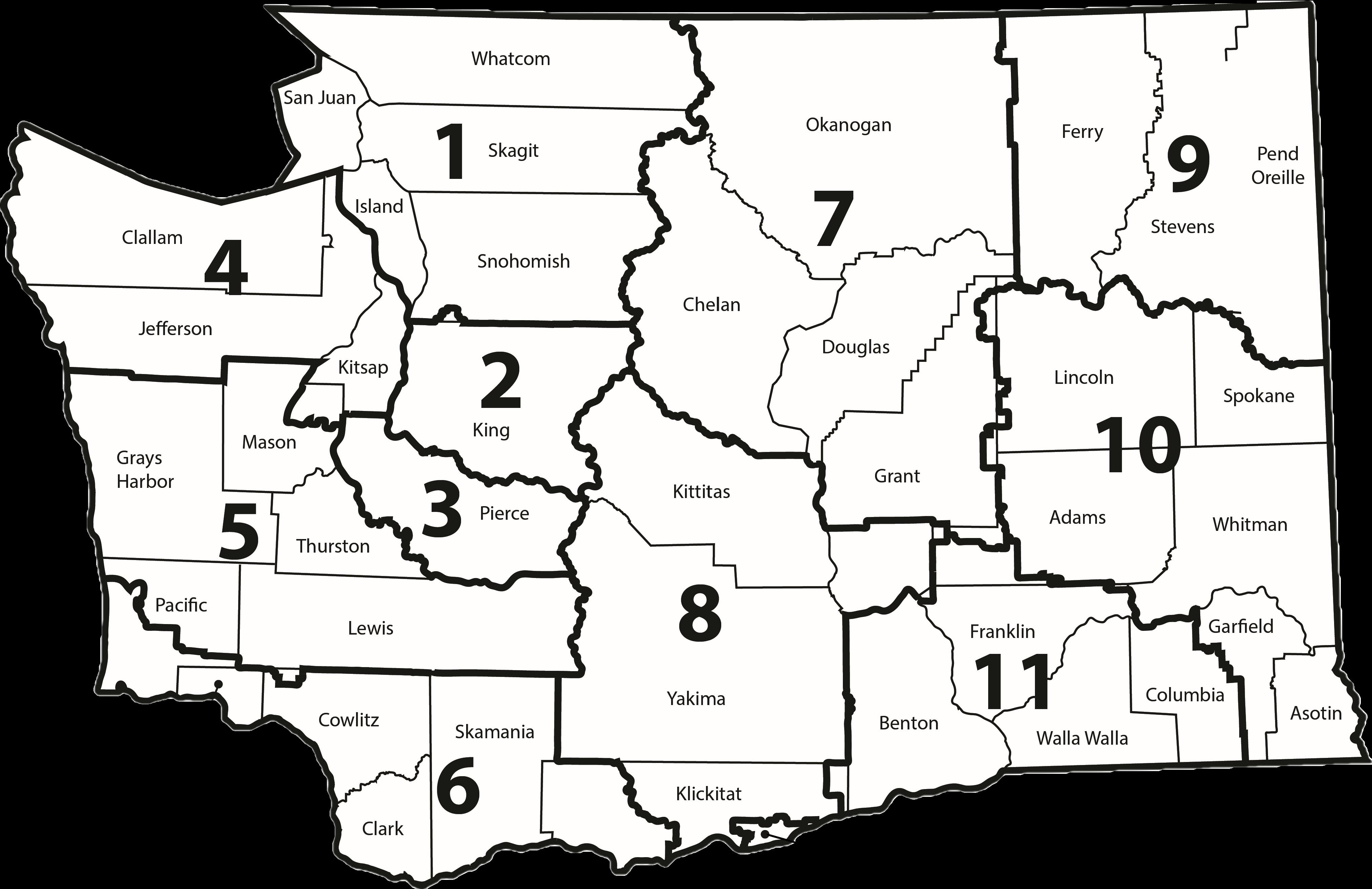 WSSDA by Regions Map